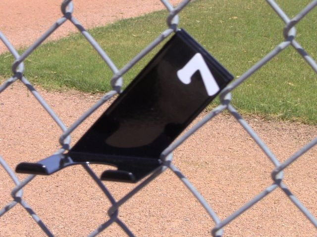 Black Bat Holder