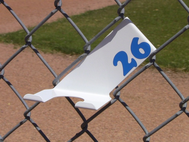 White Bat Hanger Holder